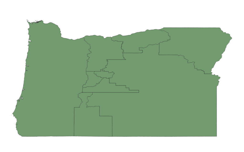 Hypothetical House Districts